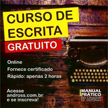 Curso online de escrita com certificado
